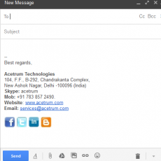 How to Add Social Media Icons to your Gmail Signature