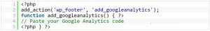 google analytics Acetrum